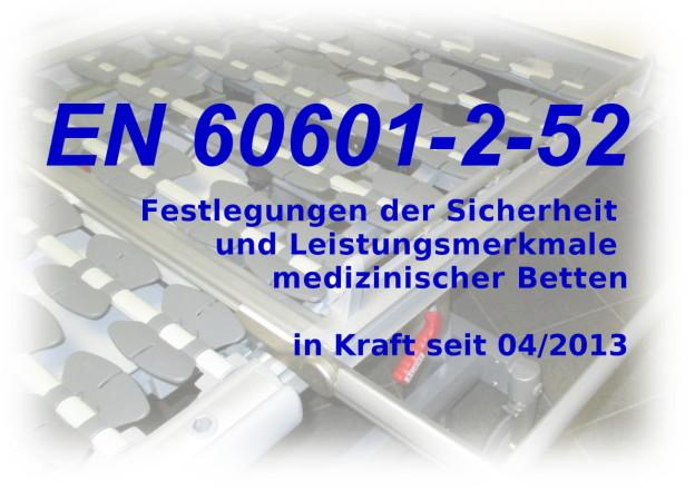 Wissenswertes zur EN 60601-2-52